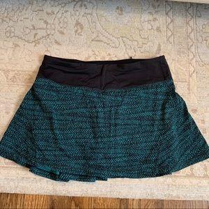 Like new Lululemon Circuit Breaker Skirt